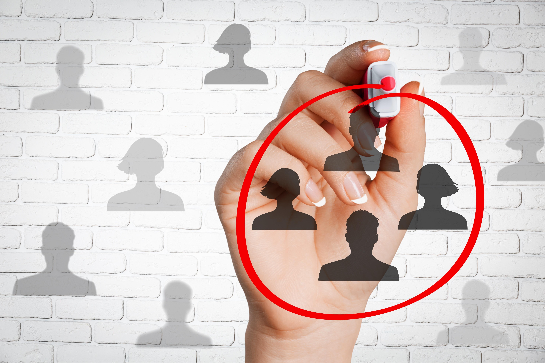 Targeting, marketing, recruit.